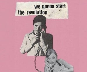 feminism, feminist, and revolution image