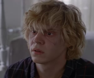 icon, evan peters, and ahs image