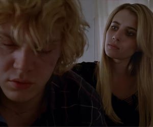 emma roberts, ahs coven, and kyle spencer image