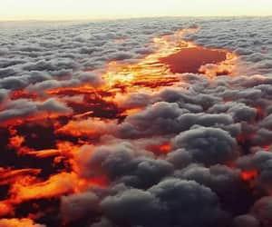 cielo, nubes, and paisaje image