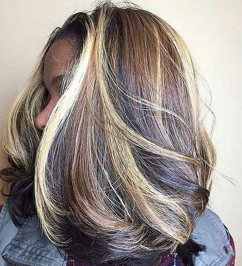 bangs, braids, and highlights image