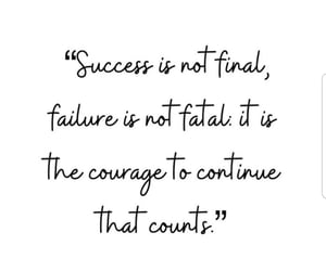 failure, courage, and quotes image