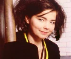 bjork, smile, and smiling image