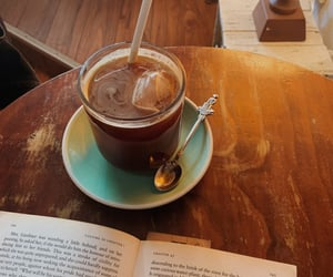 books, coffee, and exams image