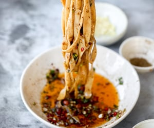 chilli, spicy noodles, and biang biang image