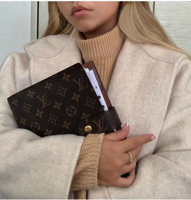 Louis Vuitton, agenda, and fashion image