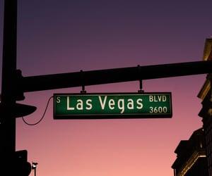 city, travel, and Las Vegas image
