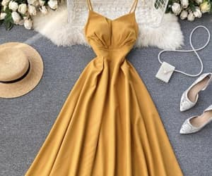 clothing, summer dress, and dress image