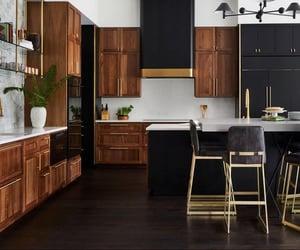 home, interior design, and kitchen image