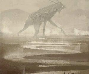 creature, illustration, and fantasy image