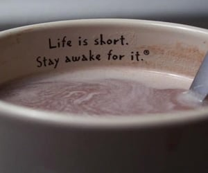 coffee, photography, and quote image