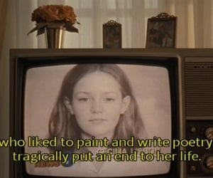 the virgin suicides, movie, and poetry image