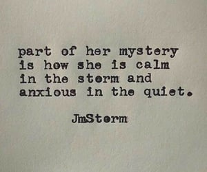 quotes, storm, and mystery image