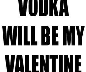 funny, valentines, and vodka image