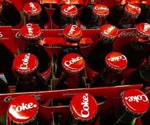 bottles, coca cola, and pop image