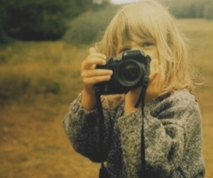 blonde, camera, and cute girl image