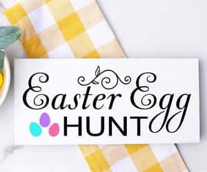 digital art, flourish, and easter egg hunt image