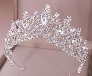 crown, jewelry, and tiara image