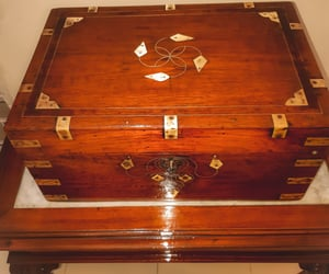 box, crystals, and jewellery box image