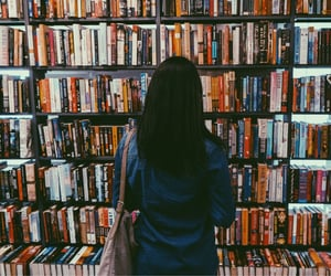 book store, books, and thrift image