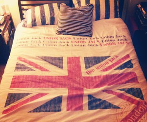 london, uk, and bed image