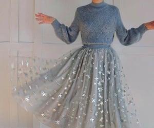 stars, fashion, and dress image