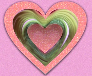 love and peace, valentines day, and love it image