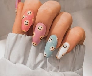 nails, smile, and aesthetic image