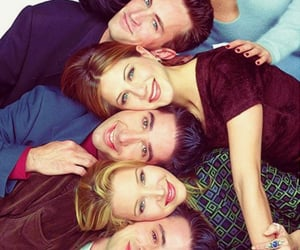 chandler bing, friendship, and funny image