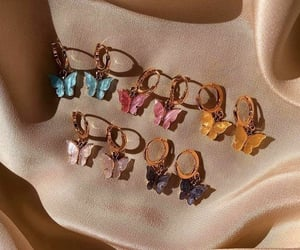 accessories, butterfly, and colourful image