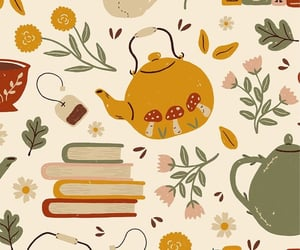 pattern, wallpaper, and autumn image