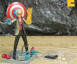 action figure, Marvel, and stanley image