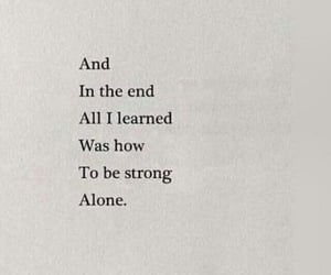 quotes, alone, and heartbreak image