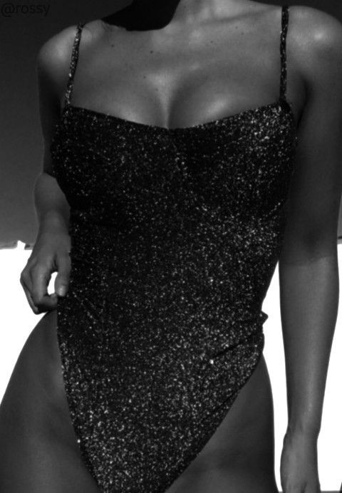 black and white, body, and shine image