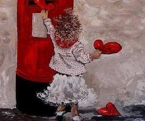 kid, mailbox, and art image