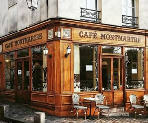 cafe, paris, and places image