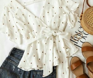 fashion, jeans, and sandals image