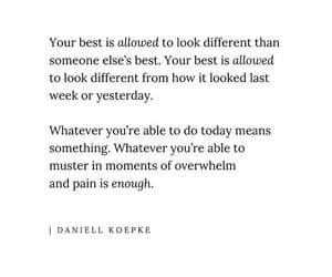 different, yesterday, and daniell kopeke. image