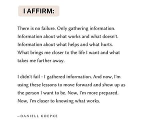 daniell kopeke, there is no failure, and gathering information image