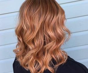 bayalage, hair, and highlights image