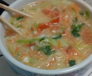 chopsticks, yummy, and ramen noodles image