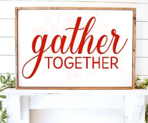 etsy, gather together, and farmhouse christmas image