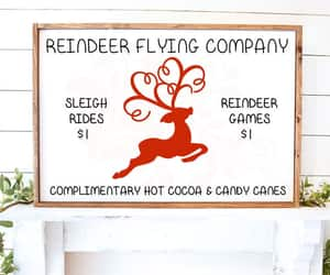 candy canes, clipart, and reindeer image