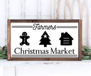 christmas tree, farmers market, and christmas farm svg image