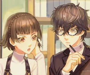 anime, persona 5, and amamiya ren image
