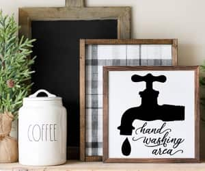 etsy, kitchen, and wash your hands image
