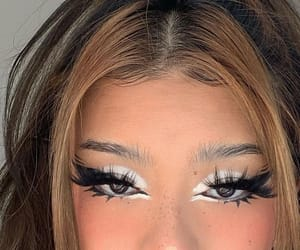 eye, face, and makeup image