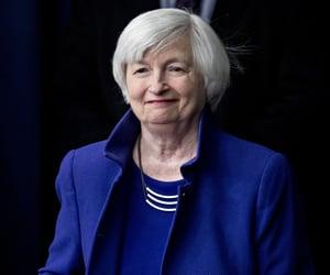economics, blue, and economist image
