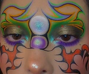 alternative, eyeliner, and eyeshadow image