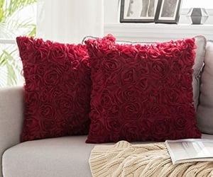 bold, pillows, and throw image